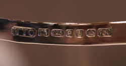 The TTC hallmark registered at the London Assay Office